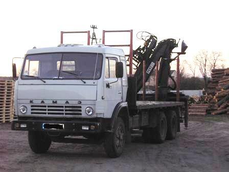 kamaz 53212 do drewna