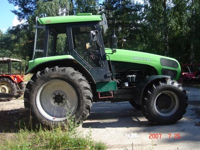 Ciągnik leśny CRYSTAL 160