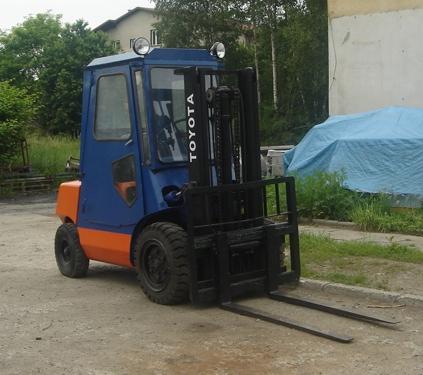 Wózek widłowy TOYOTA 3,5 T!!!