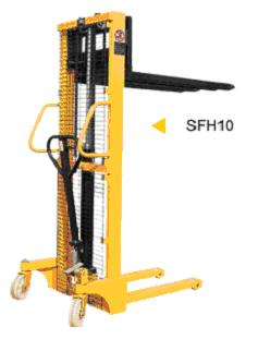 Wózek wysokounoszący paleciak SFH10-1600 - Intex