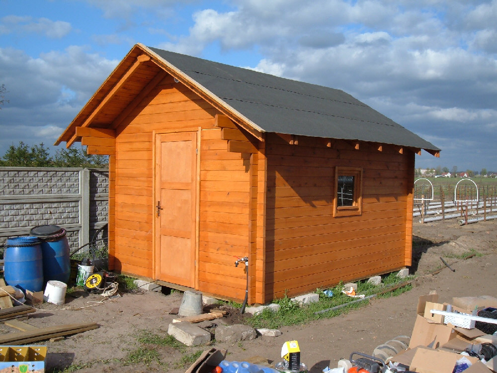 domy drewniane letniskowe ogrodowe