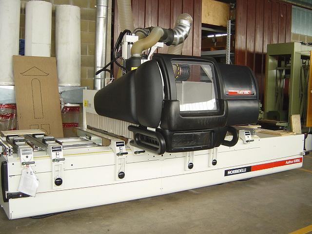 MASZYNY CNC Morbidelli AUTOR 504