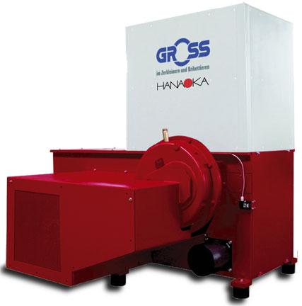 Rozdrabniacz GROSS - wydajność do 1200 kg/h