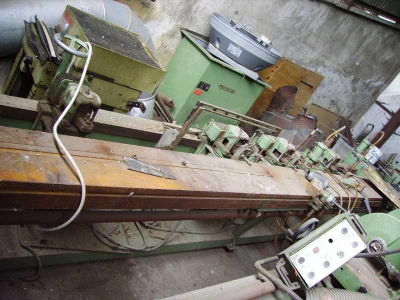 Dłutarka MAKA,4 agregaty rozsuwane na 4 metry