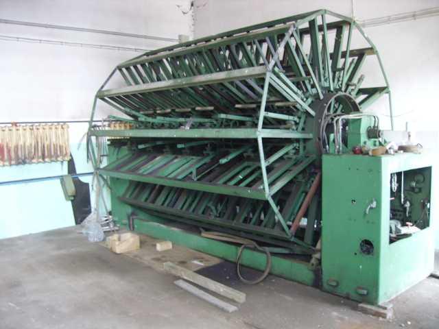 Prasa hydraulizna wiatrakowa MAWEG, 18 półek