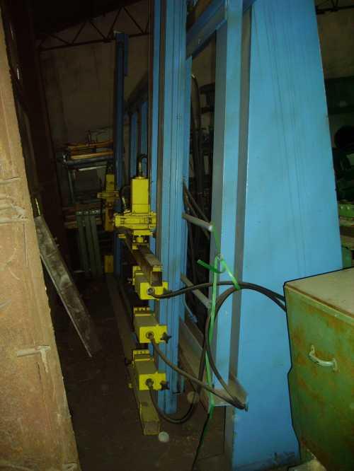 Prasa ramowa MAGES hydrauliczna