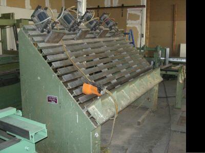 Prasa stolarska WEMHONER,pneumatyczna