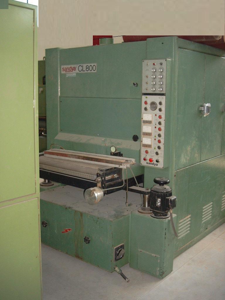 SANDYA CL 800 trzy agregatowa szlifierka