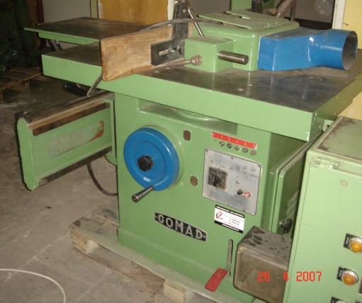 Frezarka dolnowrzecionowa z wózkiem  GOMAD DFDA 2