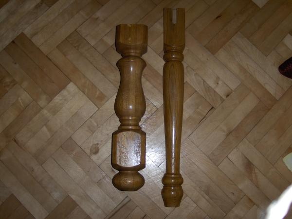 nogi dębowe do  ław,stołów