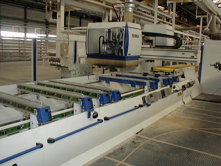 MASZYNY CNC IMA do produkcji schodów, okien, drzwi