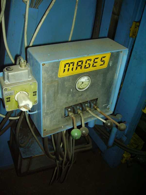 Prasa ramowa hydrauliczna MAGES ścisk SIDZINA