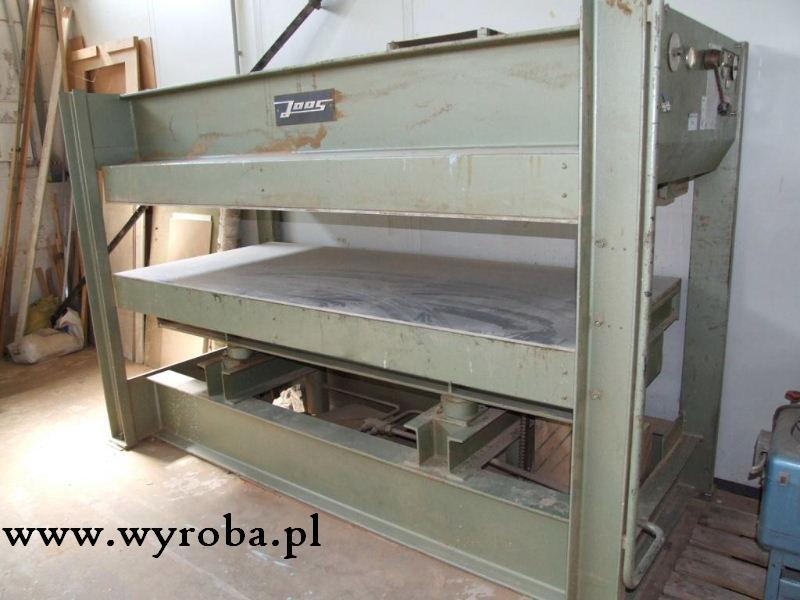 PRASA półkowa JOOS 2500 x 1100mm