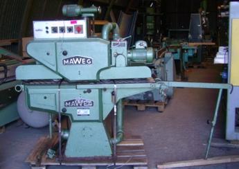Szlifierka przelotiowa MAWEG, 2 agregaty góra-dół!