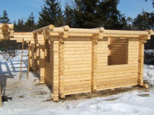 Budowa obiektu/obiektów z bali fi 16cm