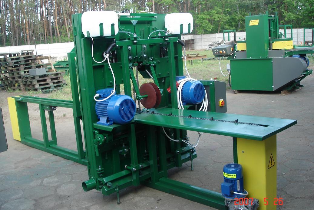 TRAK PIONOWY Producent maszyn  ZNAK CE