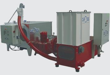 rębak - Rozdrabniacz GROSS - wydajność do 1200 kg/