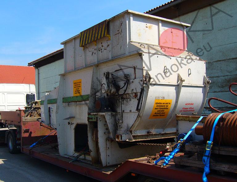 Duży rozdrabniacz do odpadów - do remontu