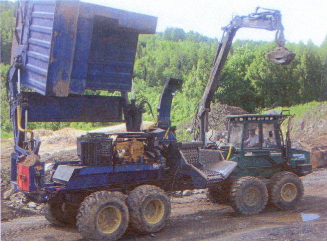 RĘBAK BRUKS 1997/515 kM z Timberjackie