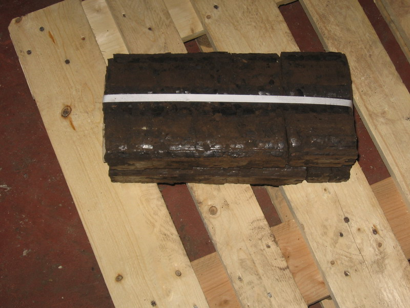 brykiet torf 10 kg paczka cena 450 zł tona brutto