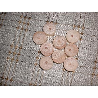 Drewniane fleki, kolki okrągle