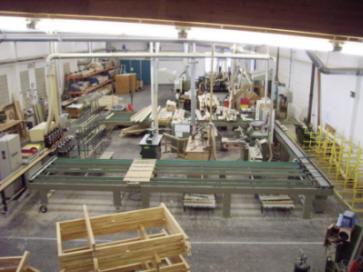 Linia do produkcji okien