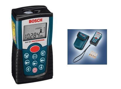 <b>BOSCH Dalmierz laserowy DLE 50</b>