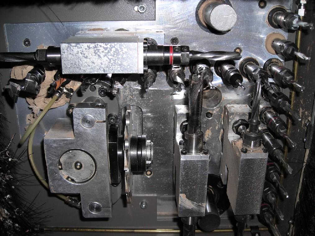 MASZYNA CNC MORBIDELLI AUTOR 503 z magazynem