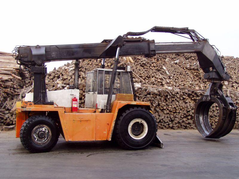 wózek do stosowania drewna