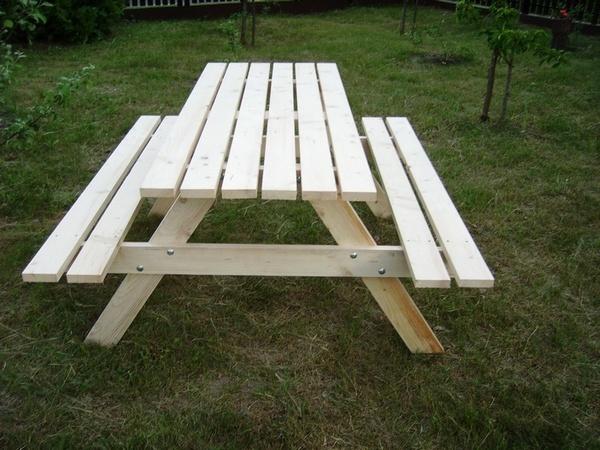 stolik piknikowy