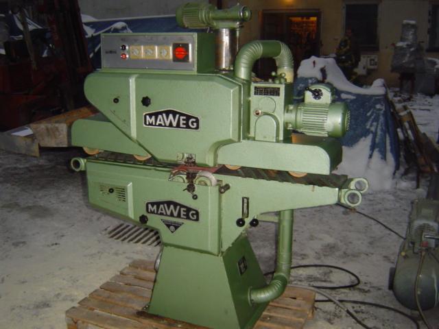Szlifierka przelotowa MAWEG 200 góra-dół!!!