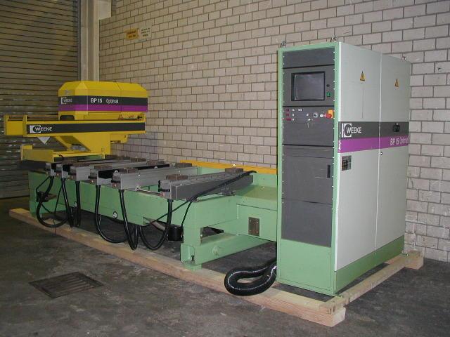 Używane maszyny CNC - Weeke BP 15