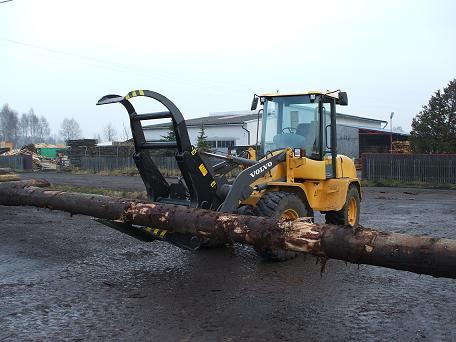 Ładowarka do drewna Volvo L35b!!!
