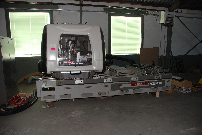 Używane maszyny CNC - MORBIDELLI AUTO 504K