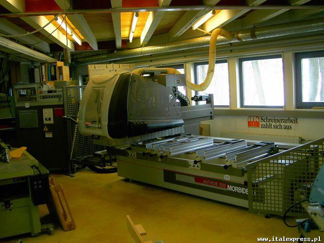 Używane maszyny CNC Morbidelli autor 502