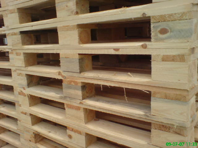Palety Drewniane 1200/800 typ. EUR bez STEMPLA