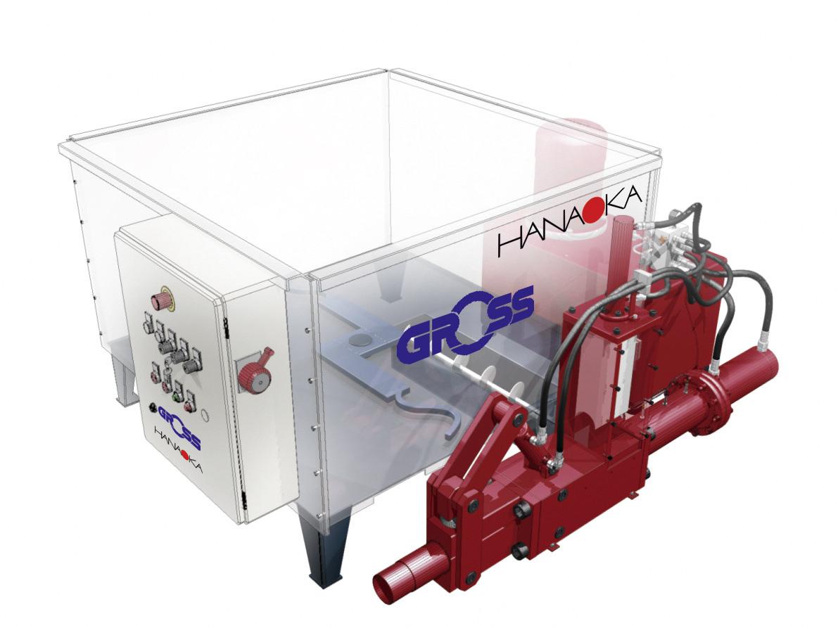 brykieciarkę GROSS - 400 kg/h - OKAZYJNIE