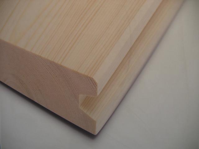Elementy wykończeniowe z drewna