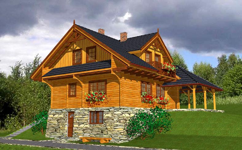 Domy drewniane, domy z drewna