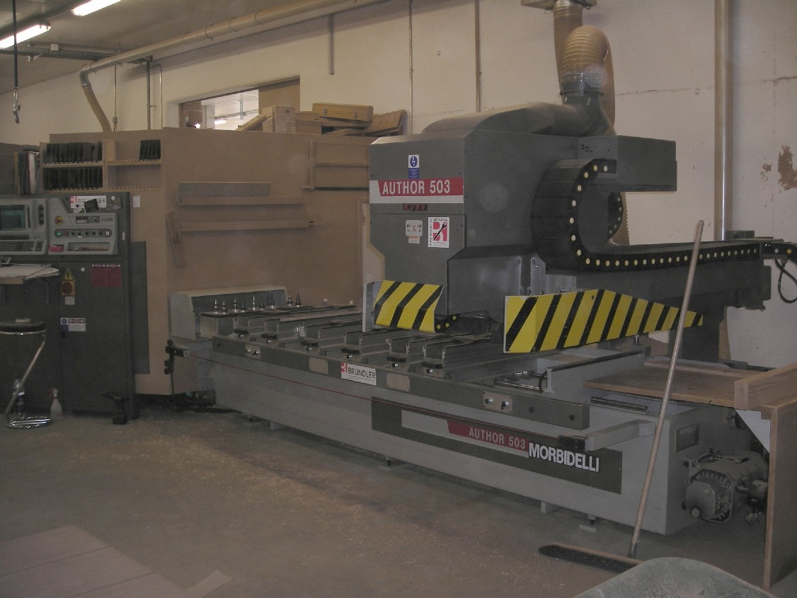 Używane maszyny CNC MORBIDELLI AUTOR 503