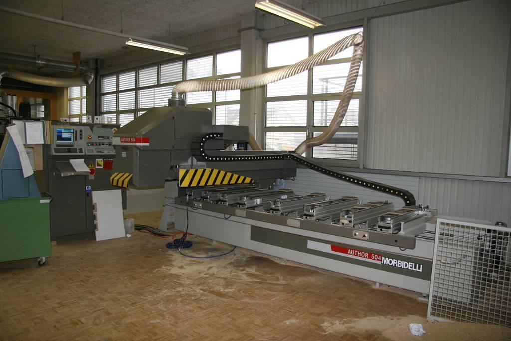 Używane maszyny CNC MORBIDELLI Autor 504 stc