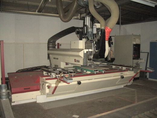 Używane maszyny CNC IMA BIMA