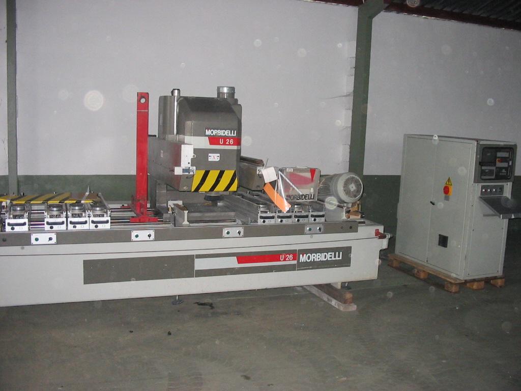 Używane maszyny CNC MORBIDELLI U 26
