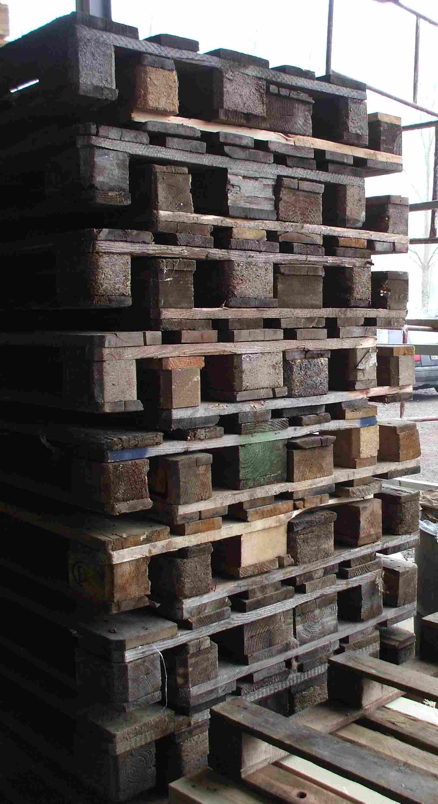 Paleta drewniana używana 1200 x 800 typ EUR