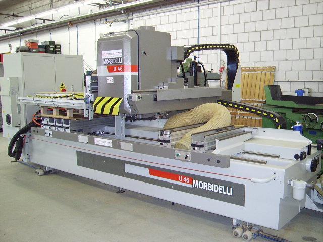 Używane maszyny CNC - MORBIDELLI U 46