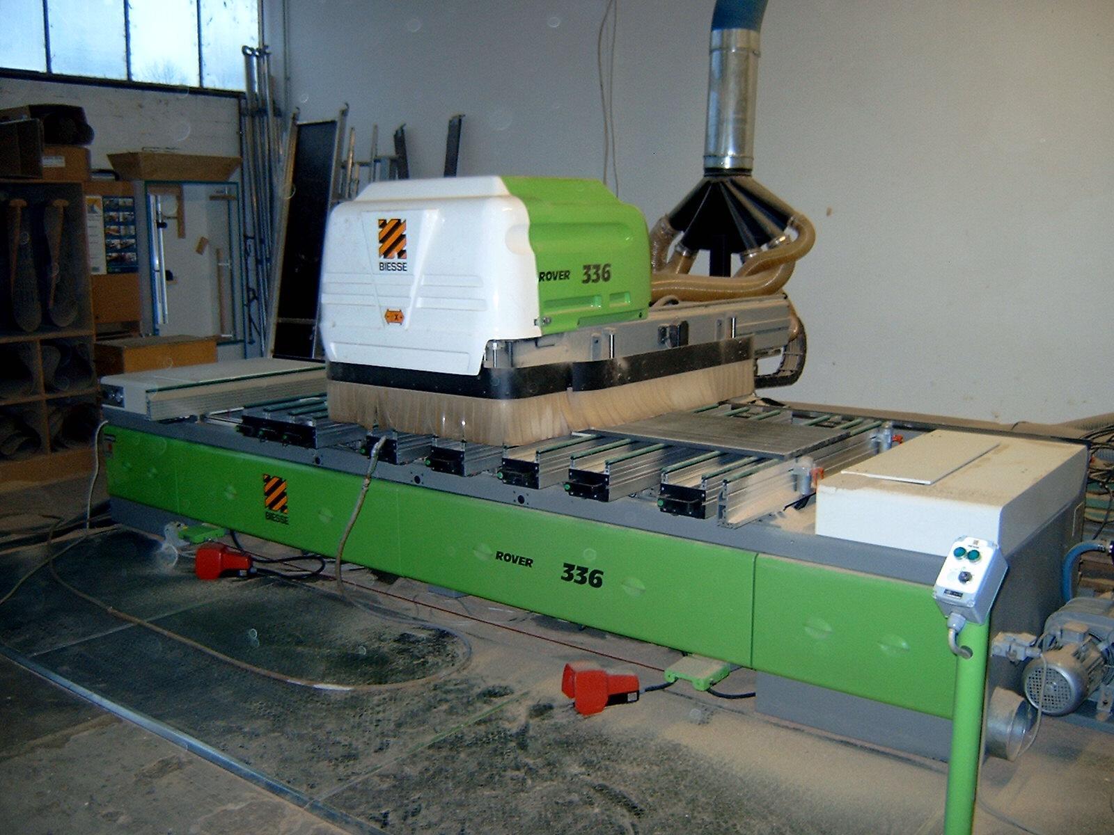 Używane maszyny CNC - BIESSE ROVER