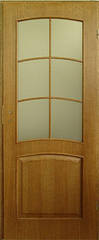 drzwi wewnętrzne z litego twardego drewna