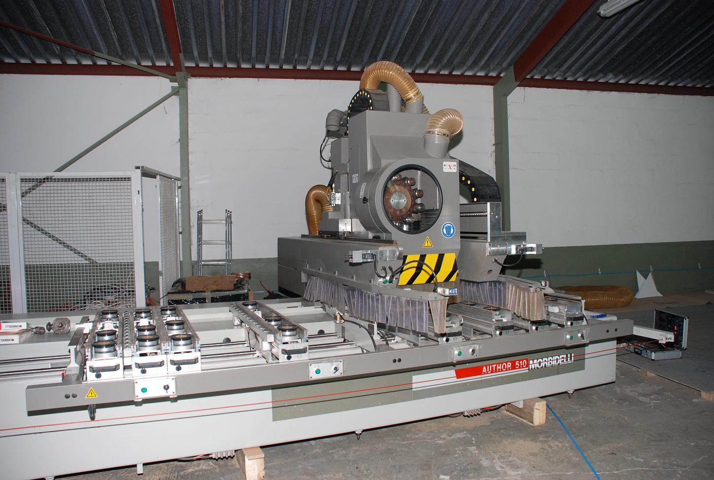 Używane maszyny CNC - Morbidelli autor 510