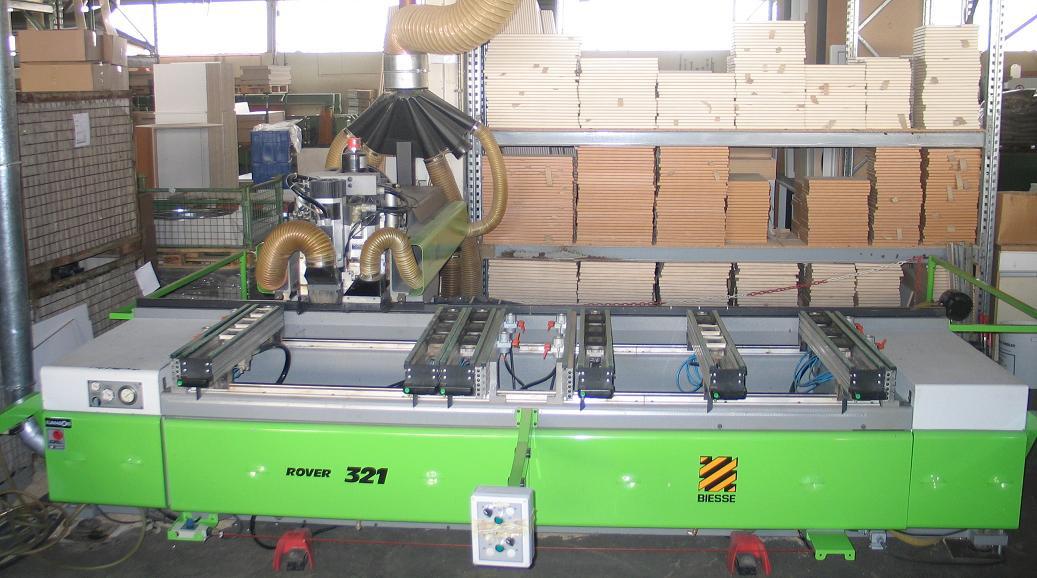 Używane maszyny CNC- BIESSE ROVER 321r