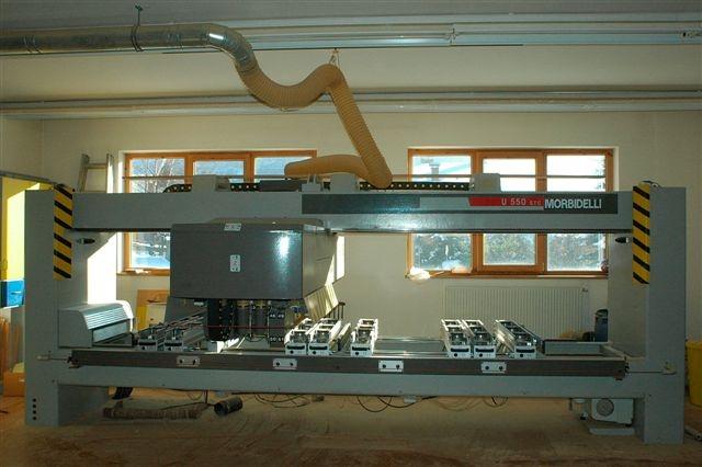 Używane maszyny CNC - Morbidelli AUTOR 550